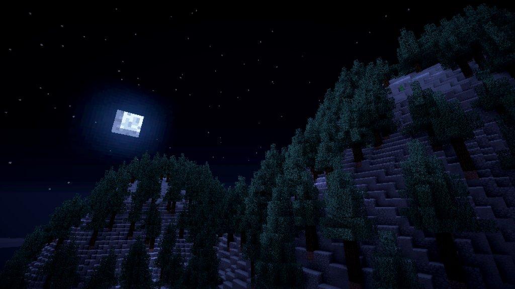 мод на звездное небо для майнкрафт 1.7.10 #11